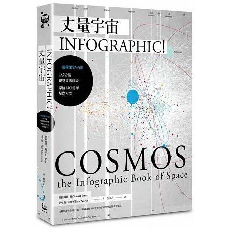 丈量宇宙 : 一眼秒懂全宇宙!100幅視覺資訊圖表,穿梭140億年星際太空