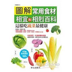 圖解常用食材相宜和相剋百科:這樣吃蔬菜最健康