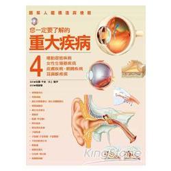 您一定要了解的重大疾病4:運動器官疾病、女性生殖器疾病、皮膚疾病、眼睛疾病、耳鼻喉疾病