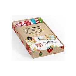 紙膠帶ing限量收藏禮物盒:32種聖誕創意卡片、居家裝飾、布置包裝實作範例,任何節日都能使用的紙膠帶