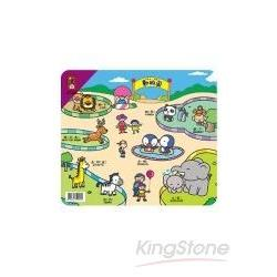 動物園-幼幼找形遊戲拼圖(8片)