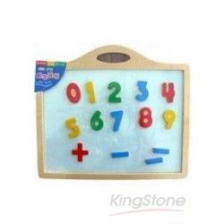 好玩數字磁板