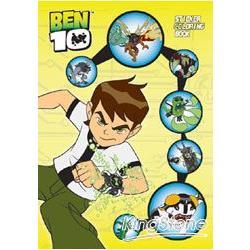 BEN10貼紙畫冊-黃