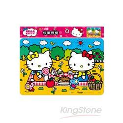 Hello Kitty快樂野餐(80片拼圖)
