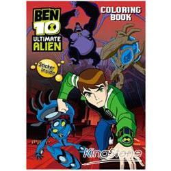 BEN10終極外星英雄貼貼畫1