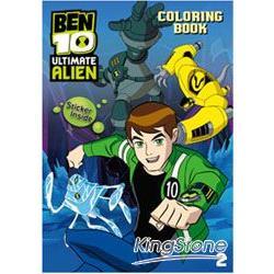 BEN10終極外星英雄貼貼畫2