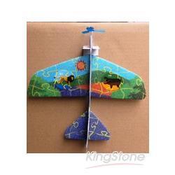 迴旋式科學小飛機(吊卡式2入)-動物系列