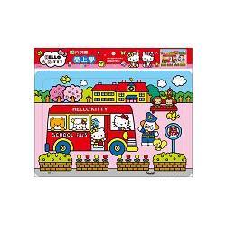 Hello Kitty愛上學80片拼圖
