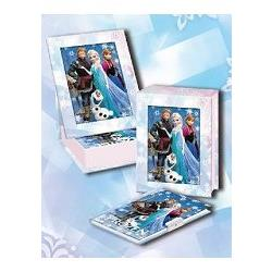 冰雪夢幻日記相框組(藍)