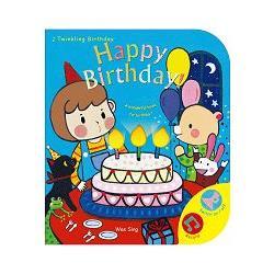 歡樂有聲書:Happy Birthday!英文版!/S015(橘色)