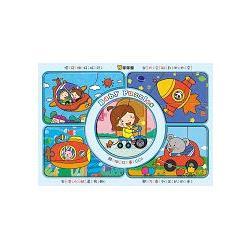 好寶寶拼圖板:交通工具/球球館