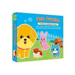 可愛動物大拼圖(Pets Puzzles)