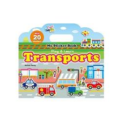 My Sticker Book –Transports(手提貼紙書--交通工具 英文版)