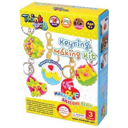 Think-Doh鑰匙圈創意組