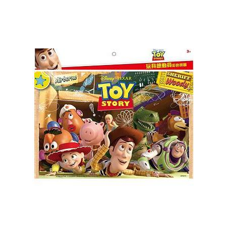 玩具總動員 彩色拼圖(C)