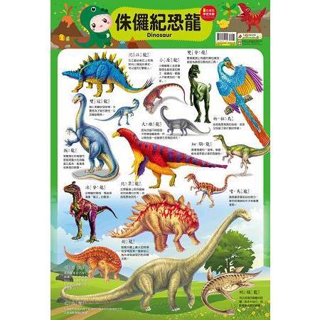 9206-10 忍者兔學習掛圖【侏儸紀恐龍】
