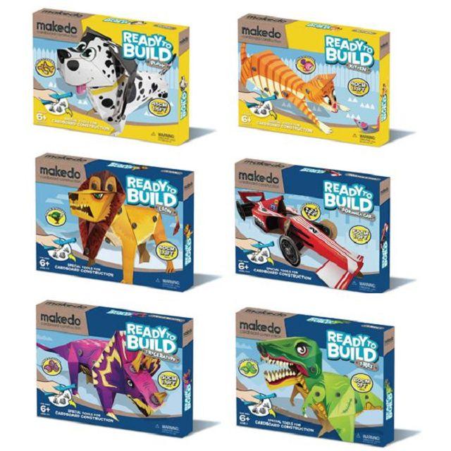 澳洲美度扣 DIY 紙箱創意玩具(六款隨機贈送)