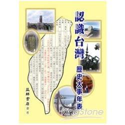 認識台灣歷史大事年表