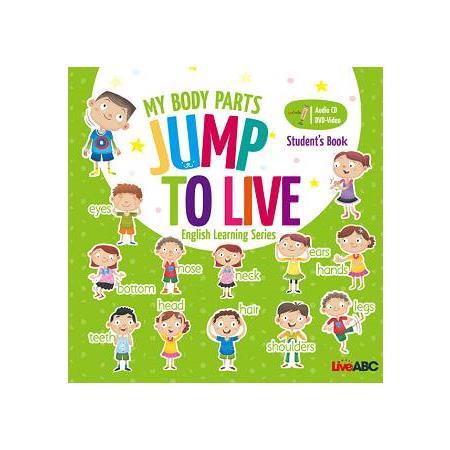 Jump To Live幼童點讀系列身體書