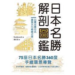 日本名勝解剖圖鑑:以畫巡禮日式建築文化細緻之美