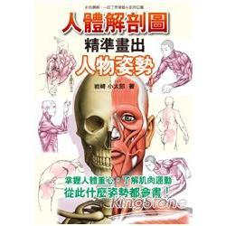 人體解剖圖:精準畫出人物姿勢