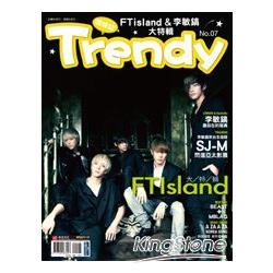 TRENDY 偶像誌 NO.7-李敏鎬 & FTisland大特輯