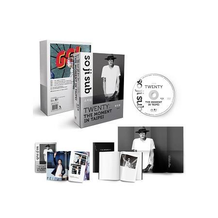 蘇志燮TWENTY:出道20年台灣專場粉絲會DVD+寫真冊+時光筆記本+海報
