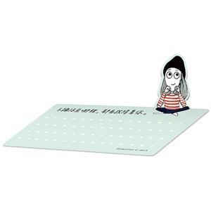 Dorothy可立式小卡-條紋衣(10入)