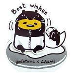 Gudetama x Laimo萬用小卡best wishes