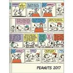 2017年B6週間手帳Snoopy多格漫畫