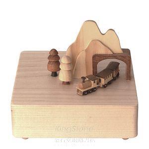 【Wooderful Life】木製動能‧城市音樂鈴/山洞火車