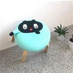 Kuroro 貓貓掌小椅-藍