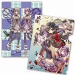 城隍-L型夾-紫色蝴蝶