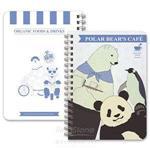 北極熊caf-手札(雷射)A款(北+貓熊)