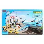 城市系列-豪華飛機造景組