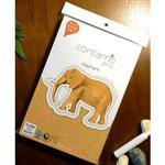 Contamo DIY瓦楞模型 野生動物系列-大象(L)