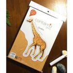 Contamo DIY瓦楞模型 野生動物系列-長頸鹿(L)