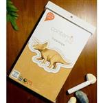 Contamo DIY瓦楞模型 恐龍系列-三角龍(L)