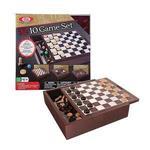 【美國Ideal】經典桌遊系列-10合1桌上棋組