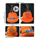 航海王-3吋艾斯帽吊飾鑰匙釦