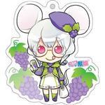 12生肖獸娘 X 台灣水果- 鼠【葡萄】壓克力鑰匙圈