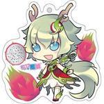 12生肖獸娘 X 台灣水果- 龍【火龍果】壓克力鑰匙圈