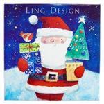 LD耶誕盒卡(耶誕老人發禮物囉!)/XBVB2012K