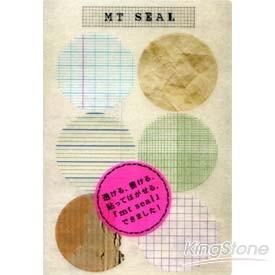 【日本mt和紙膠帶】貼紙組-紙的材質