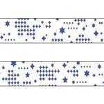 日本mt和紙膠帶 星之光芒(藍)