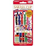 斑馬SARASA英倫風鋼珠筆0.5-5色組(限量)