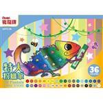 Pentel 變色龍粉蠟筆36色(紙盒)GHT2-36