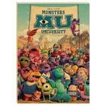 迪士尼16K定頁筆記牛皮紙/怪獸大學