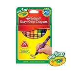 Crayola繪兒樂 幼兒可水洗三角蠟筆8色