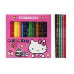 KT 盒裝24色木頭色筆-粉紅